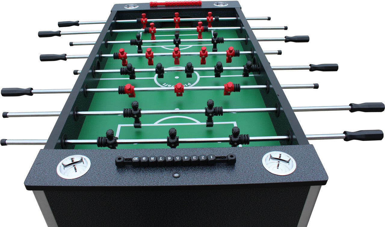 ... Pitch Foosball Table Charcoal Side Topdown ...