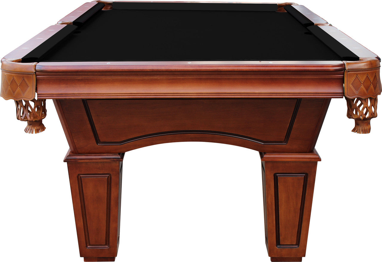 St Lawrence 8 Slate Pool Table W Leather  ...