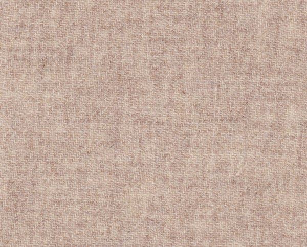 Flecked oatmeal twill Harris Tweed 74cm wide x 50cm long continual