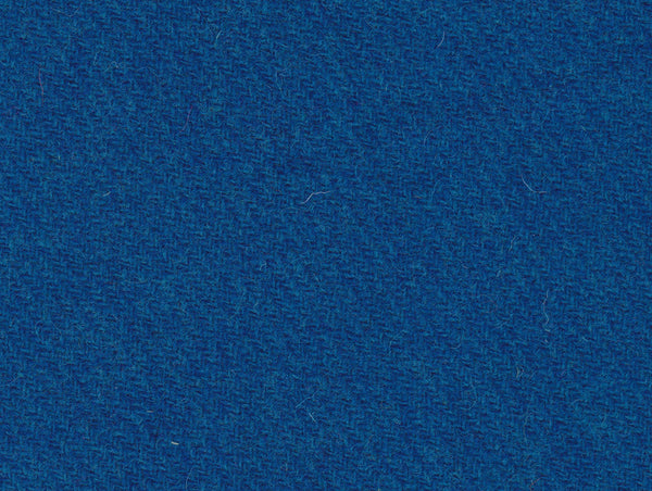 dark rich blue teal twill Harris Tweed 74cm wide x 1m long continual (darker than pic)