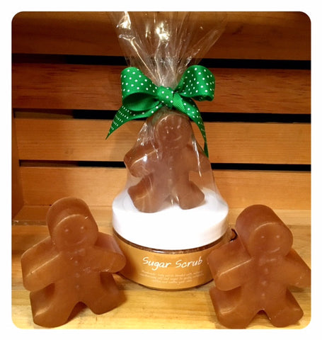 Gingerbread Cookie Scrub and Soap