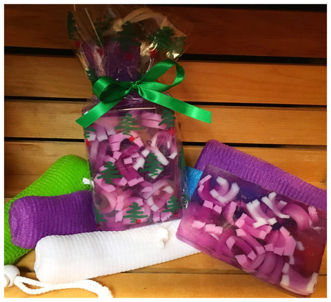 Soap and Soap Pouch Gift Set