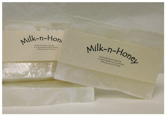 Milk-n-Honey Soap Slice
