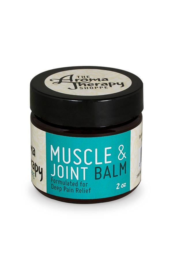 Handmade Muscle & Joint Balm - 2 oz. - The Aromatherapy Shoppe Virginia Beach