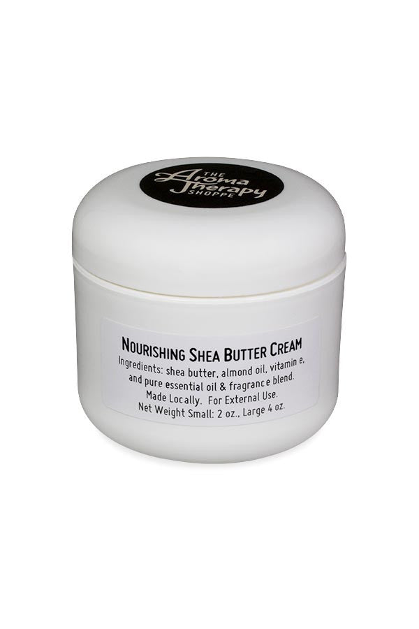 Handmade Nourishing Shea Butter Cream - The Aromatherapy Shoppe Virginia Beach