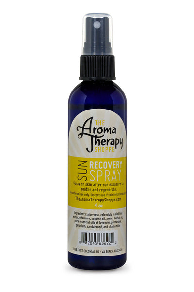Handmade Sun Recovery Spray - 4 oz. - The Aromatherapy Shoppe Virginia Beach