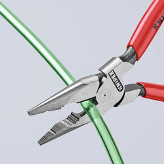 Buy Knipex 0821145 Needle Nose Combination Pliers, Knipex 145mm plier online in India, Plier Tool for repairs installations, EDC Tool in India