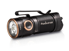 Fenix E18R LED Flashlight, Mini Compact Everyday Carry LED Torch, Outdoor work purpose powerful light, Rechargeable Flashlight