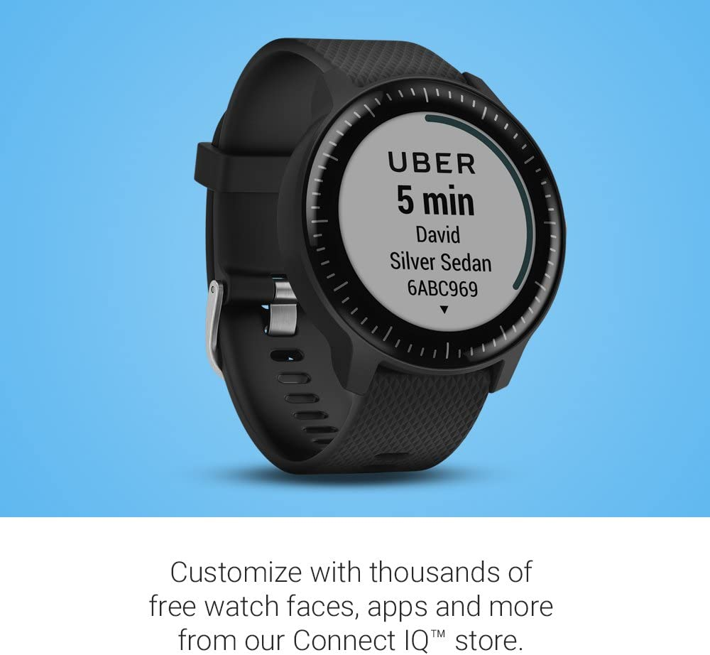 Buy Garmin Smart Watch Online in India, Garmin Vivoactive 3 Music Smart Watch 010-01985-25, 010-01985-45, Best Smart Watch for Outdoor Sports & Fitness and Music Compatibility