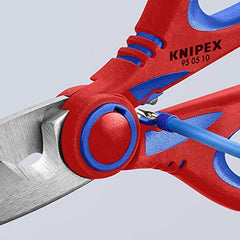 Knipex Electrician's Shears 95 05 10 SB, Knipex multi-Component Grips, fibreglass-Reinforced tool, EDC Knipex Tool in India