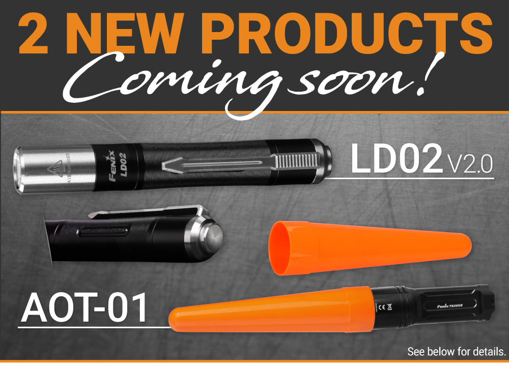 Fenix LD02 V2.0, Fenix AOT 01, Fenix New Release, Flashlights, Pen Light, Compact and Handy Pen Torch in India