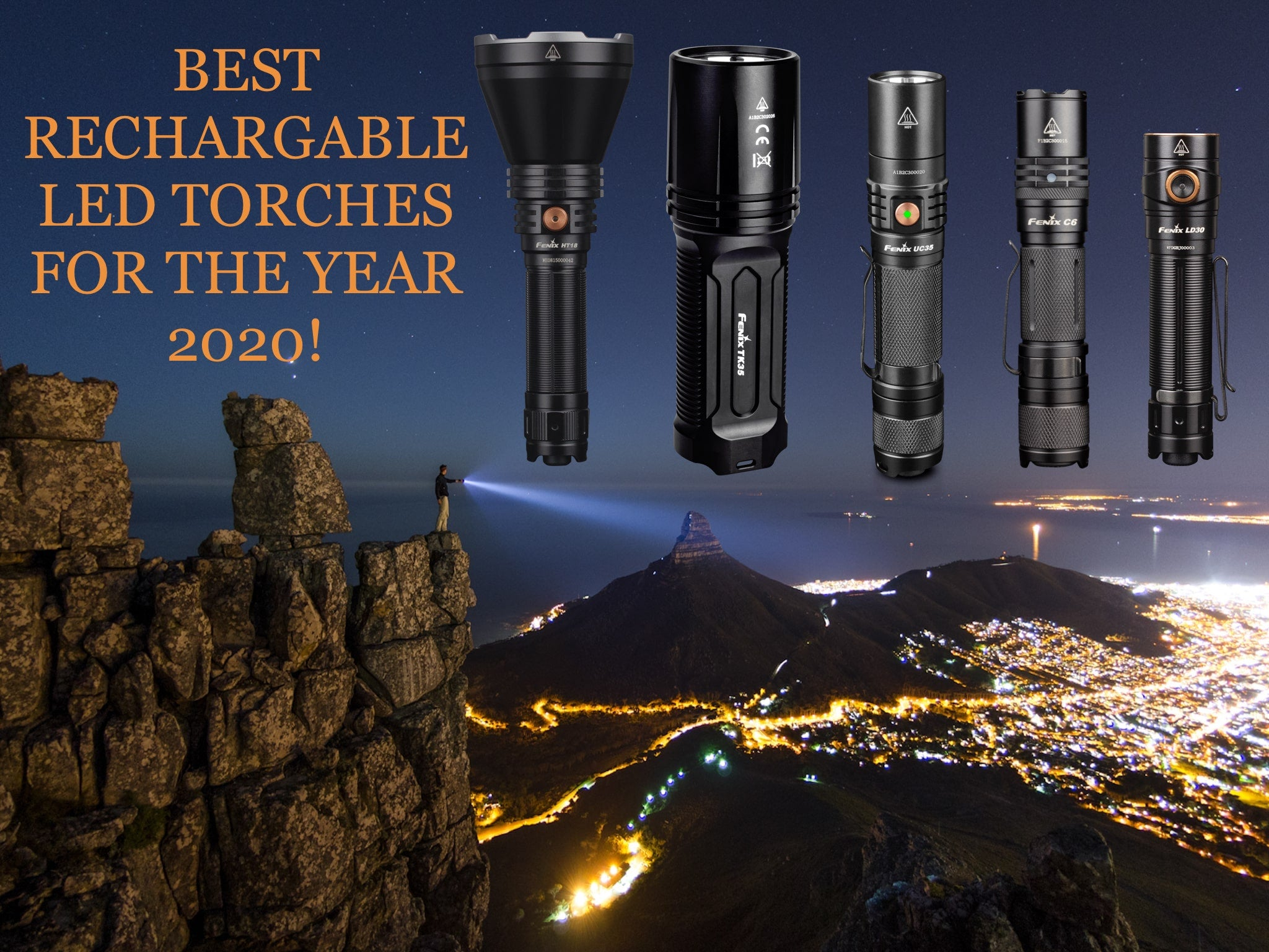 Best Rechargeable LED Torch Light in India 2020
