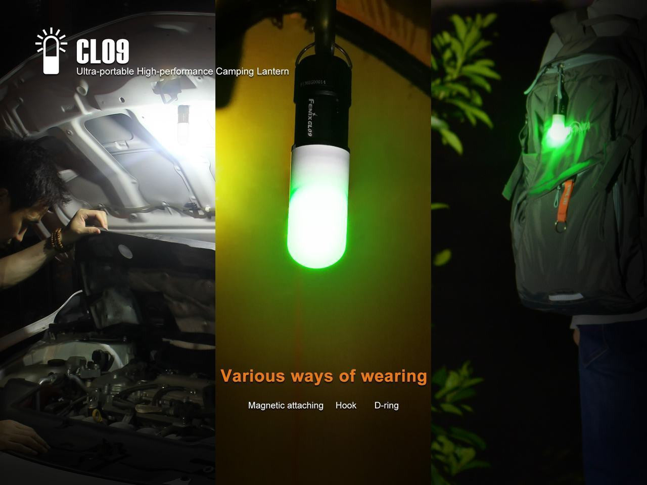 Fenix CL09 200 Lumen Camping Lantern with Magnetic Base, in India