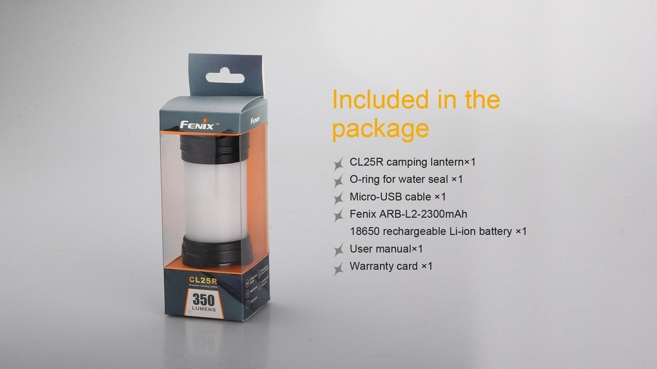 Fenix CL25R USB Rechargeable Camping Light, Buy online in India