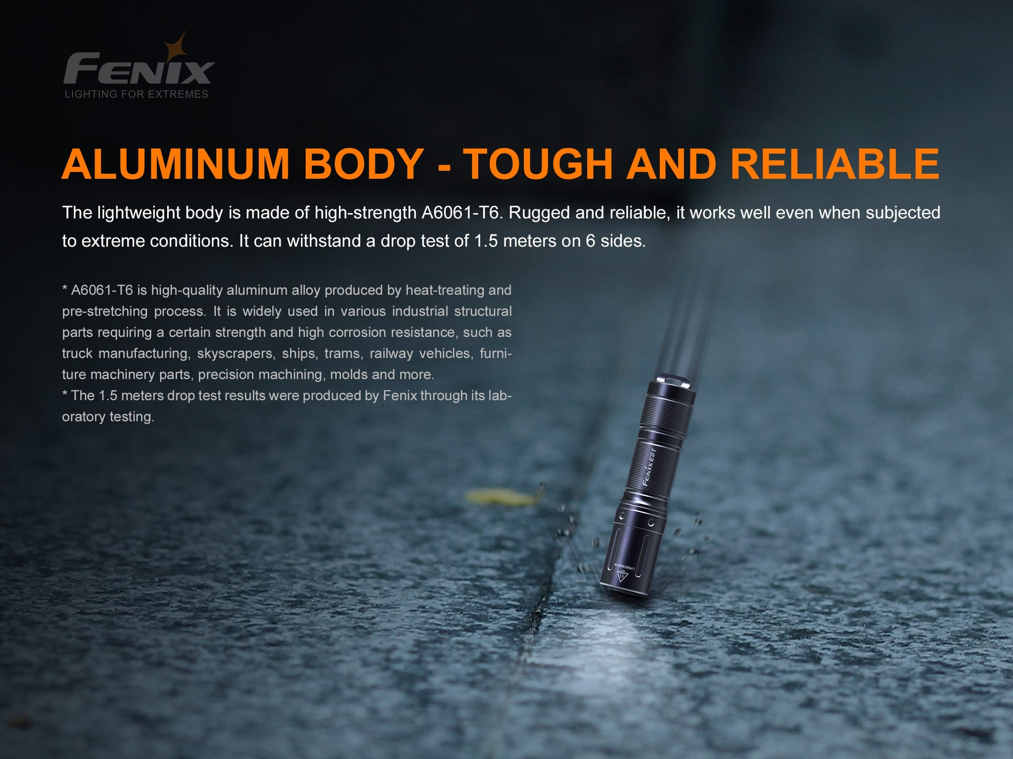 Buy Fenix E01 V2 LED Torch Light online in India, Compact Key Chain Light for EDC, AAA Battery Torch, Fenix E01