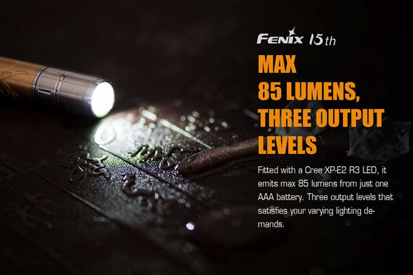 Fenix F15 15th Anniversary Edition Flashlight