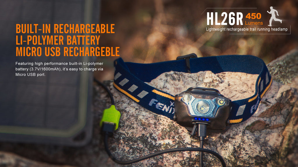 Fenix HL26R Running Headlamp USB Rechargeable Outdoor LED Headlamp in India