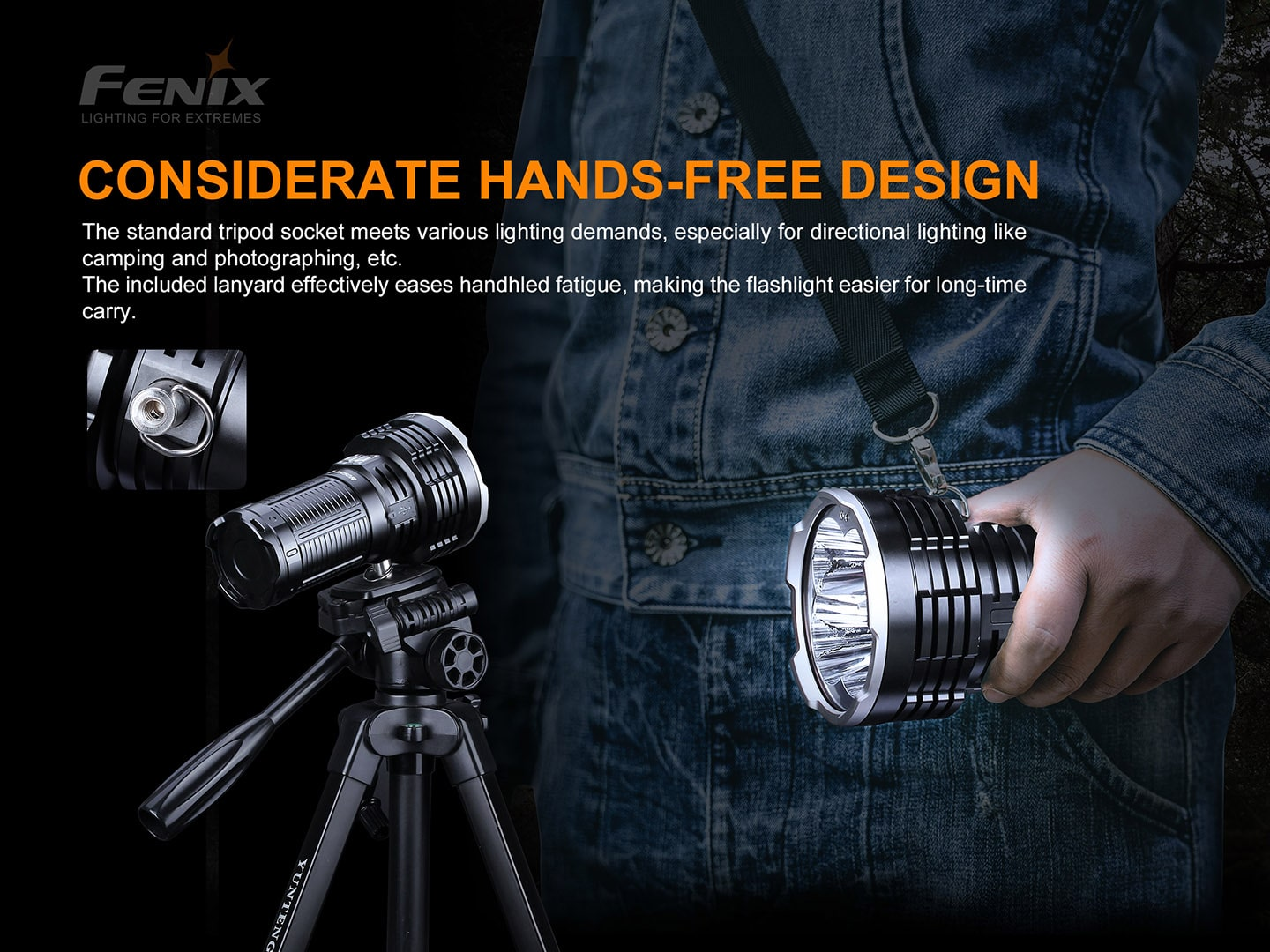 Fenix LR50R in India Extremely powerful torchlight zabardast bright torch