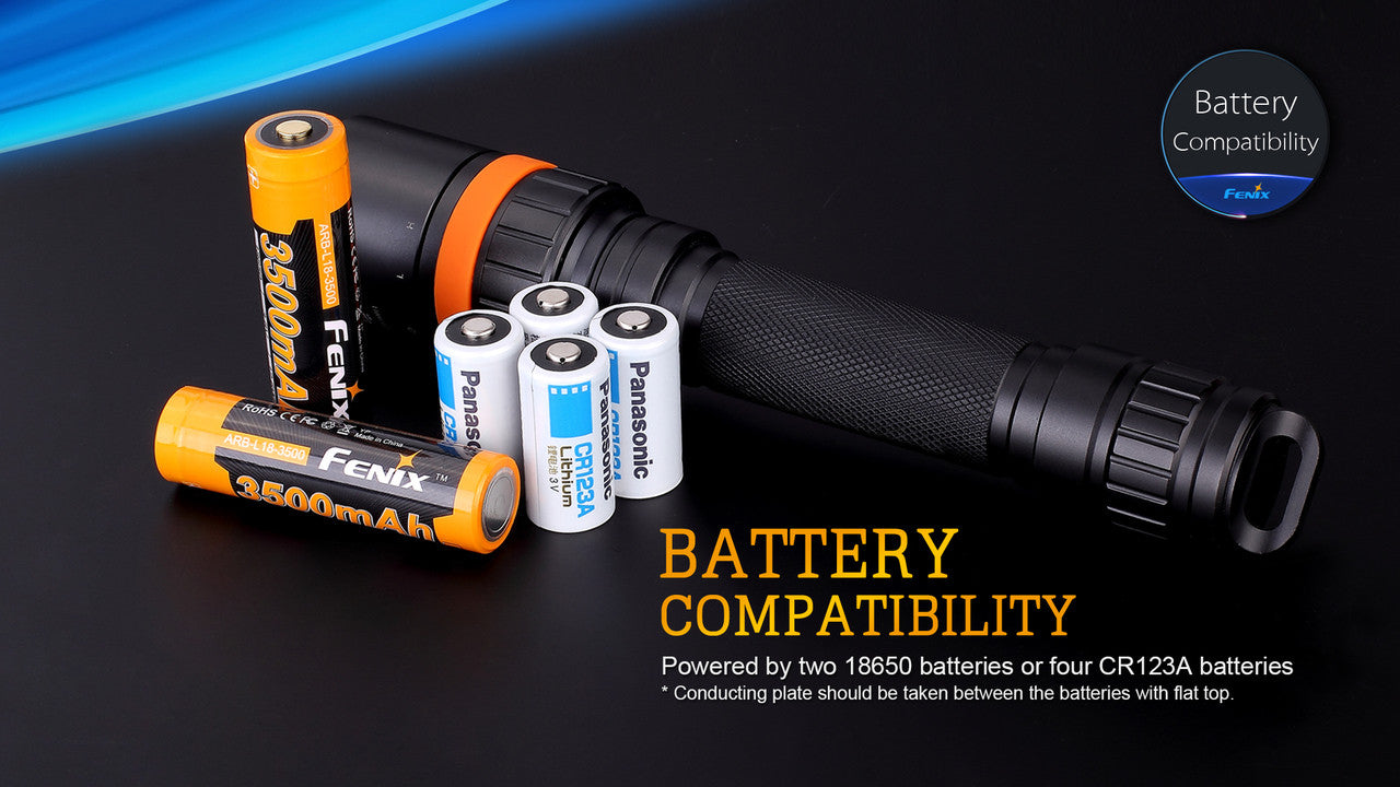 Fenix SD20 Underwater Diving Flashlight in India, 100 Meter under water Torch
