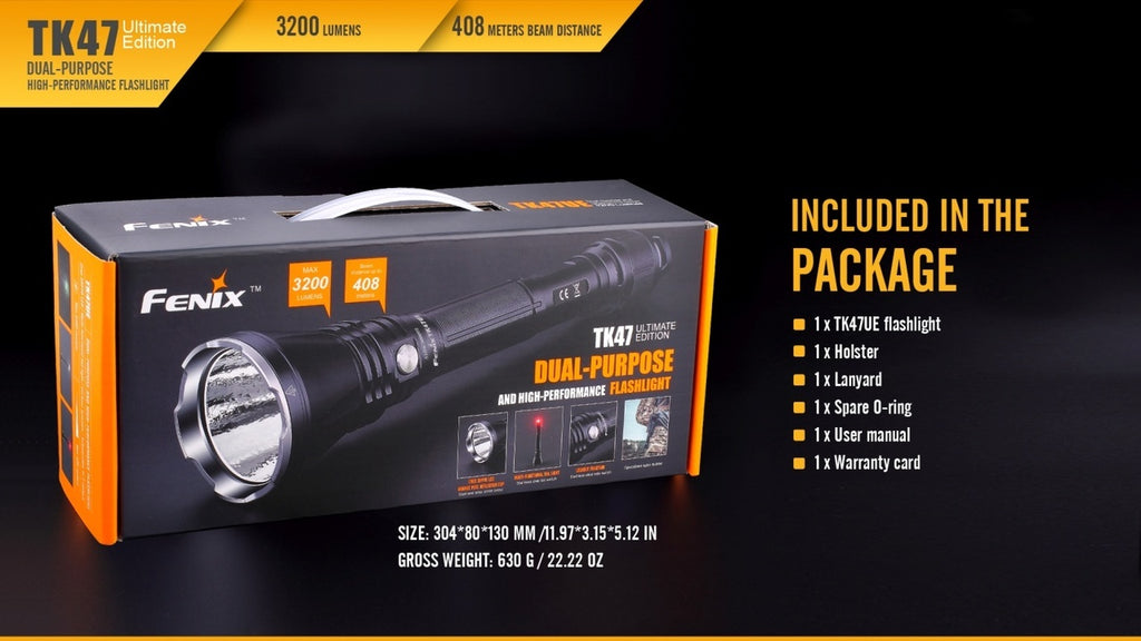 Fenix TK47UE LED Flashlight in India, Buy Fenix TK47UE LED Torch online