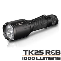 Fenix Tk25R&B, Tactical Flashlight, Red and Blue LEDs Torch, 1000Lumen Torch, Buy Online in India