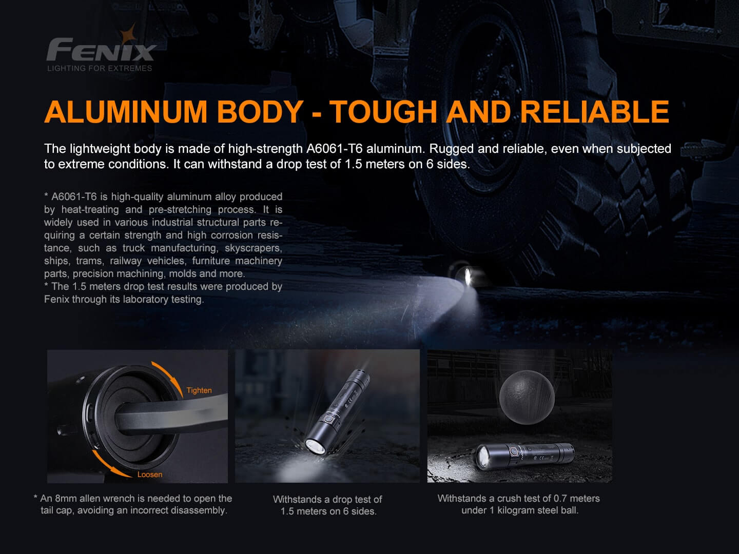 Fenix WF30RE Rechargeable Safe LED Torch, Intrinsically Safe Flameproof/Explosion Proof Torchlight in India, ATEX approved Torch for Zone 1, Zone 2, Zone 21, Zone 22