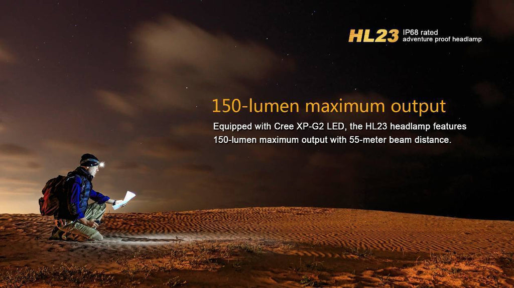 Fenix HL23 LED HeadLamp (1*AA)