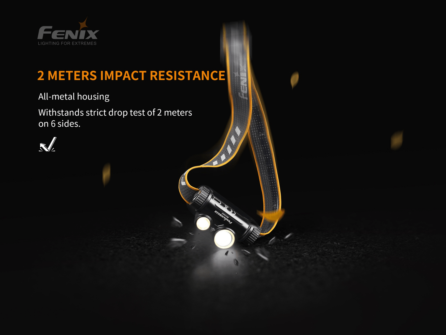 Fenix HM65R 1400 Lumens White & Neutral White LED Headlamp, Heavy Duty Work Powerful Helmet Mounted Headlamp