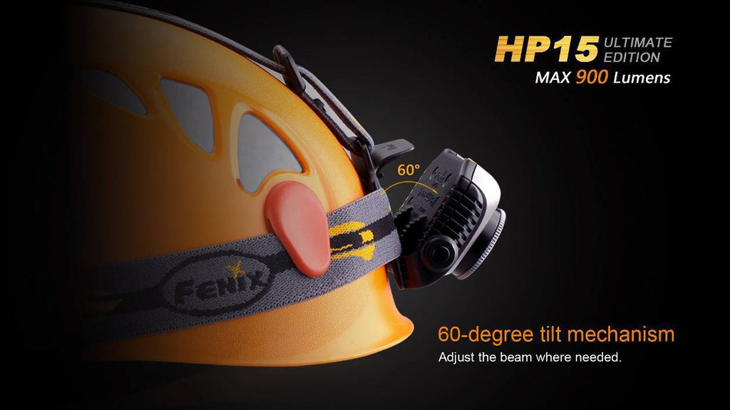 Fenix HP15UE LED Headlamp  (4 x AA)