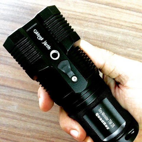 Nitecore TM26 LED Flashlights in India, Buy online on www.ledflashlights.in