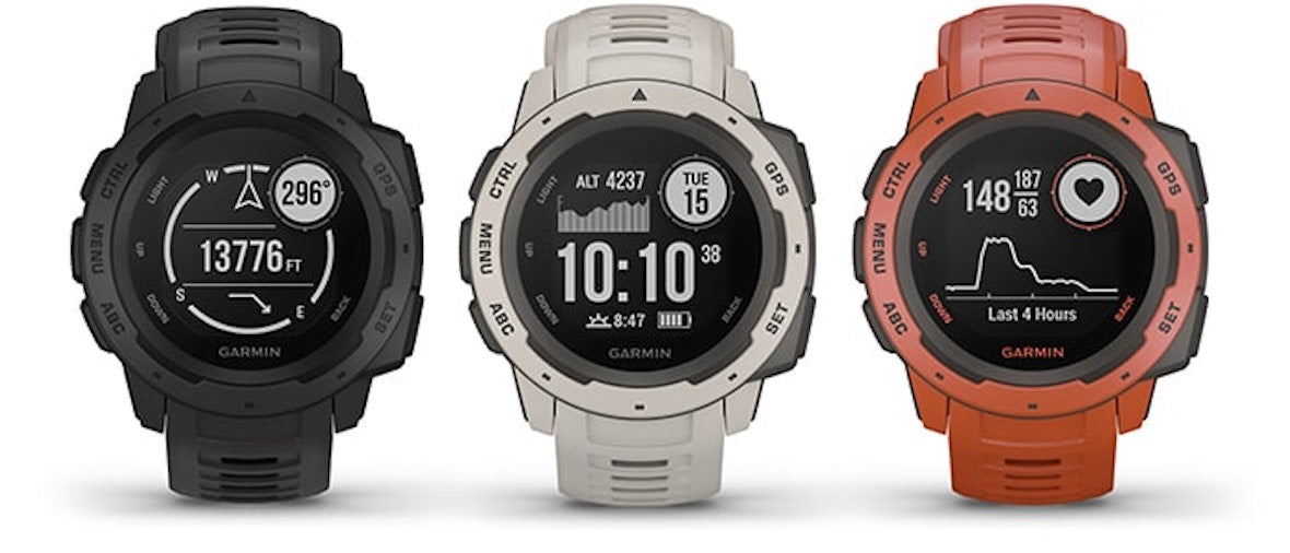 Buy Garmin Smart Watch Online in India, Garmin Smart Watch Instinct, Garmin Instinct India, Rugged GPS Watch Built to Withstand the Toughest Environments, Extreme Outdoors Sports & Fitness Smart Watch