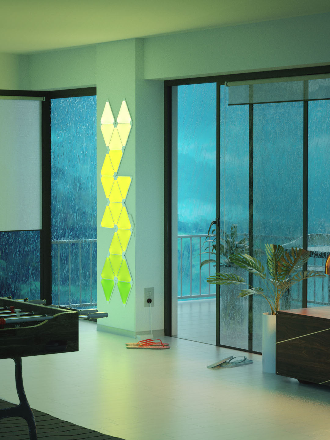 Nanoleaf Aurora India, It's the light for you- Color it, Now in India, Nanoleaf Aurora, Aurora, Revolutionary mood lights, Mood lighting, color lights, light panels, Play with colors, Make walls your canvas, Lighting creativity, live the lights
