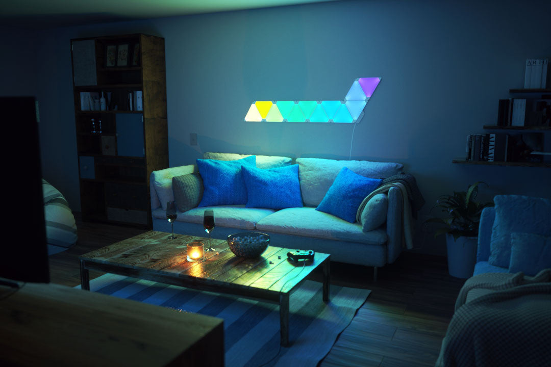 Nanoleaf Aurora India, It's the light for you- Color it, Now in India, New lights, color lights, play with colors, Led lights, Panel lights, Paint the lights