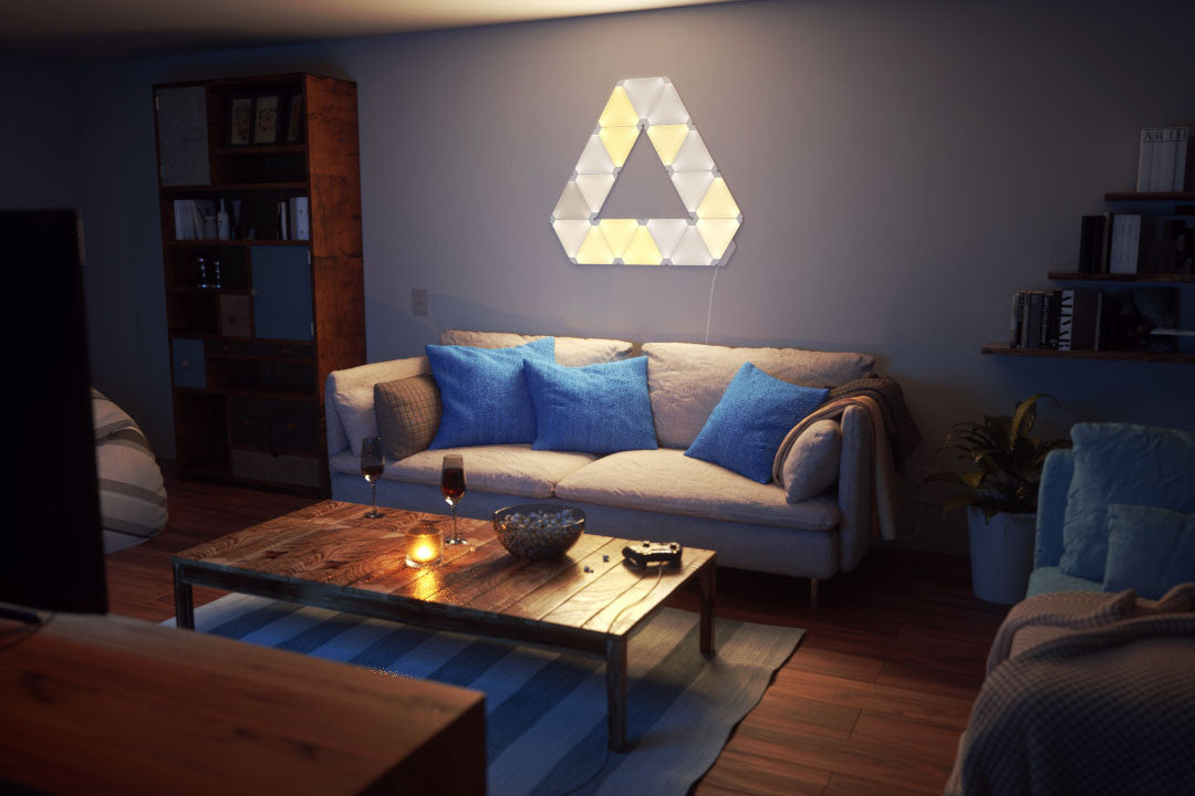 Nanoleaf Aurora India, It's the light for you- Color it, Now in India, Play with colors, Led panels, Feel your mood lights