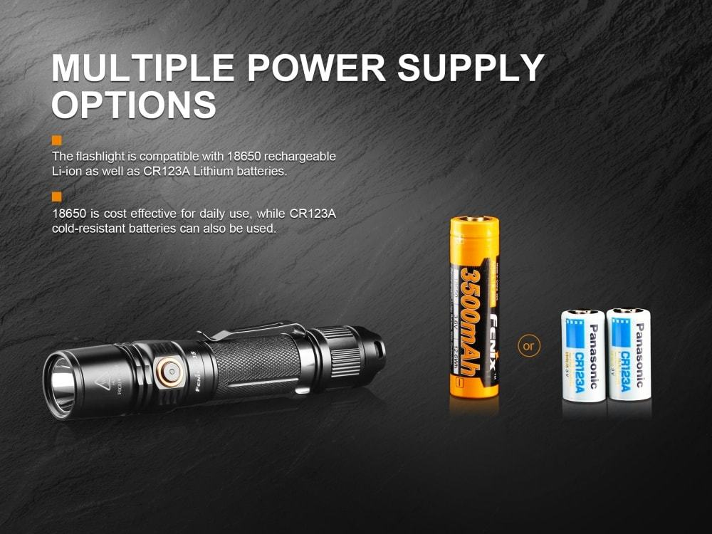 Fenix PD35, Fenix PD35 V2 2018, LED Flashlight, 1000 Lumens, Compact Hand-held LED Torch, Buy online in India www.ledflashlights.in LightMen