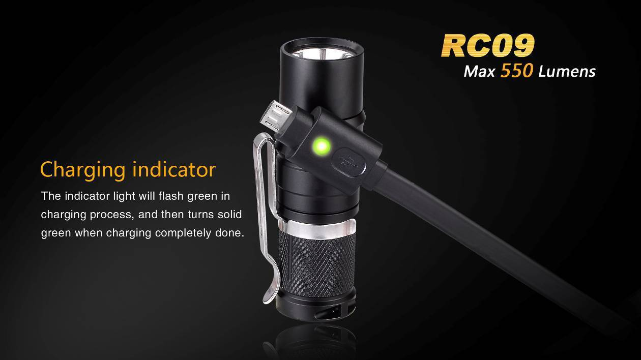 Fenix RC09 Magnetic Charging Flashlight India LightMen, Buy in India