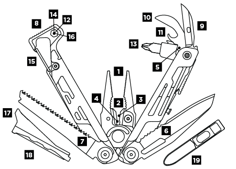 Leatherman Signal, Leatherman multi-tools in India, Signal Heavy Duty EDC Multi-Tool, Outdoor Tool