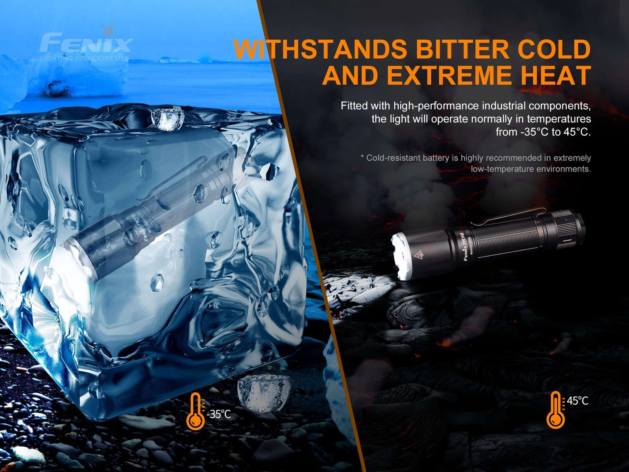 Buy Fenix TK16 V2 in India, 3100 Lumens Rechargeable LED Torch, High Performance Powerful Light, perfect for work outdoors EDC, search & rescue, aviation torch, industrial torch