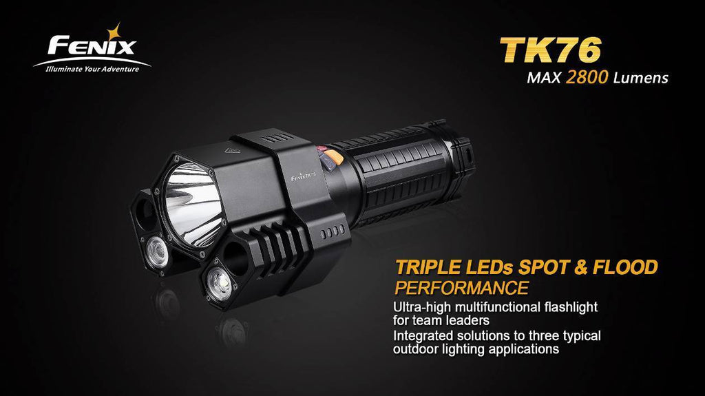 Fenix TK76 Spotlight in India, Hunting Spotlights, Searchlight in India.