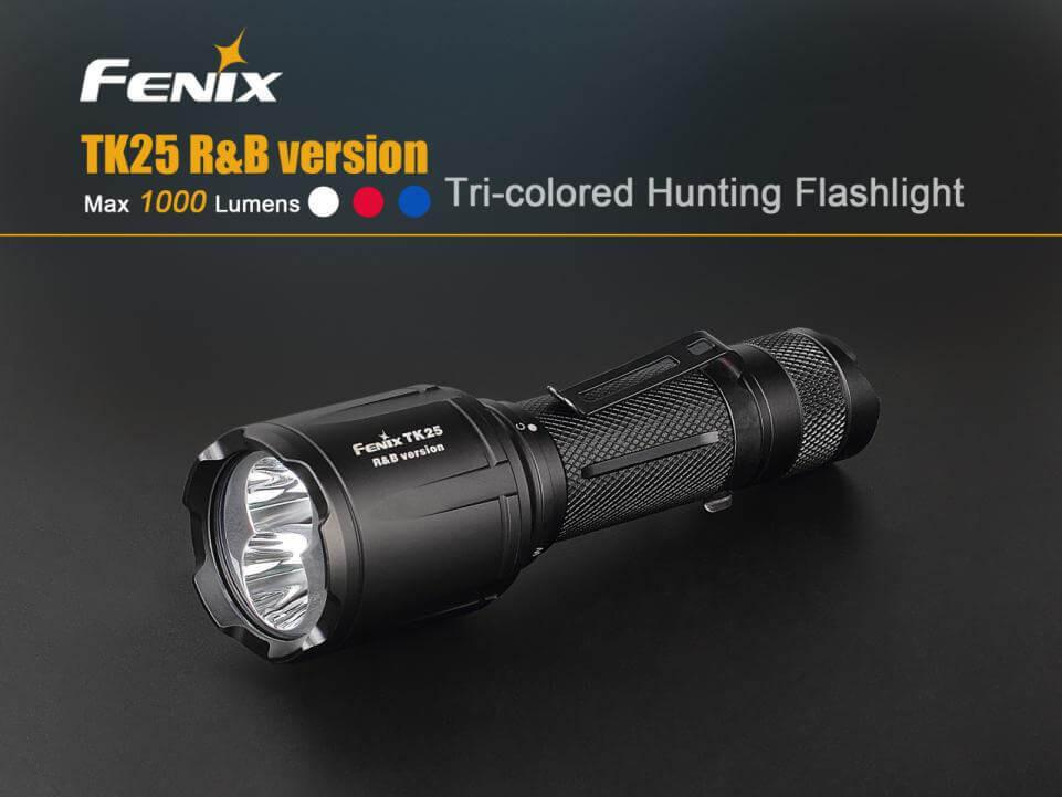 Fenix TK25 R&B Flashlight, Fenix Tk25 Torch, Buy Online in India, Fenix New product 2017, Multi-color Flashlight