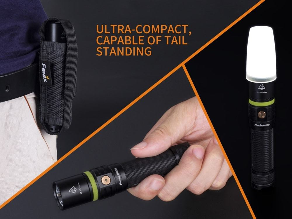 Fenix UC30 1000 Lumen USB Rechargeable LED Flashlight 2017 Edition, Buy LED Flashlight online in India