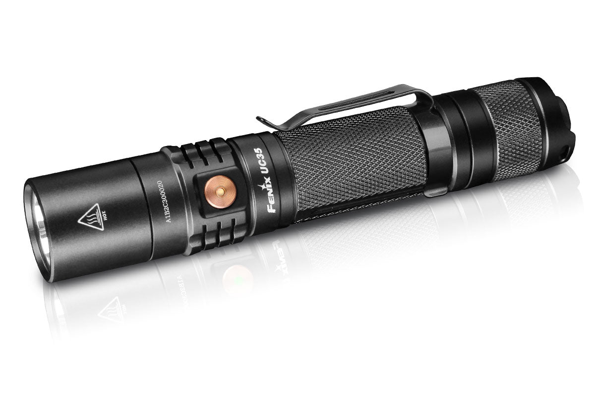 Fenix UC35 V2.0, Fenix UC35 Upgrade 2018, Everyday Carry LED Flashlight, Torches in India, Pocket Size Powerful Torch in India