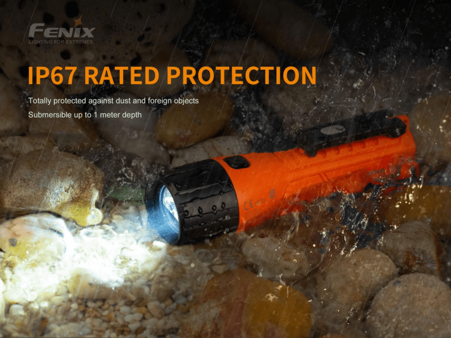 Fenix FLP Torch India, Flame Proof Torch, Intrinsically Safe Torch, Flame Proof Torch