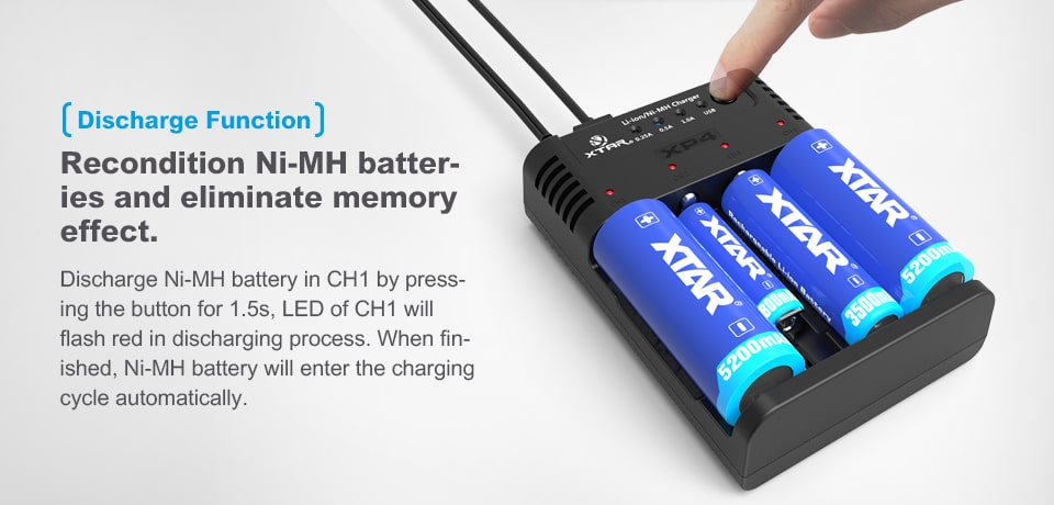 Xtar XP4 Batter Charger