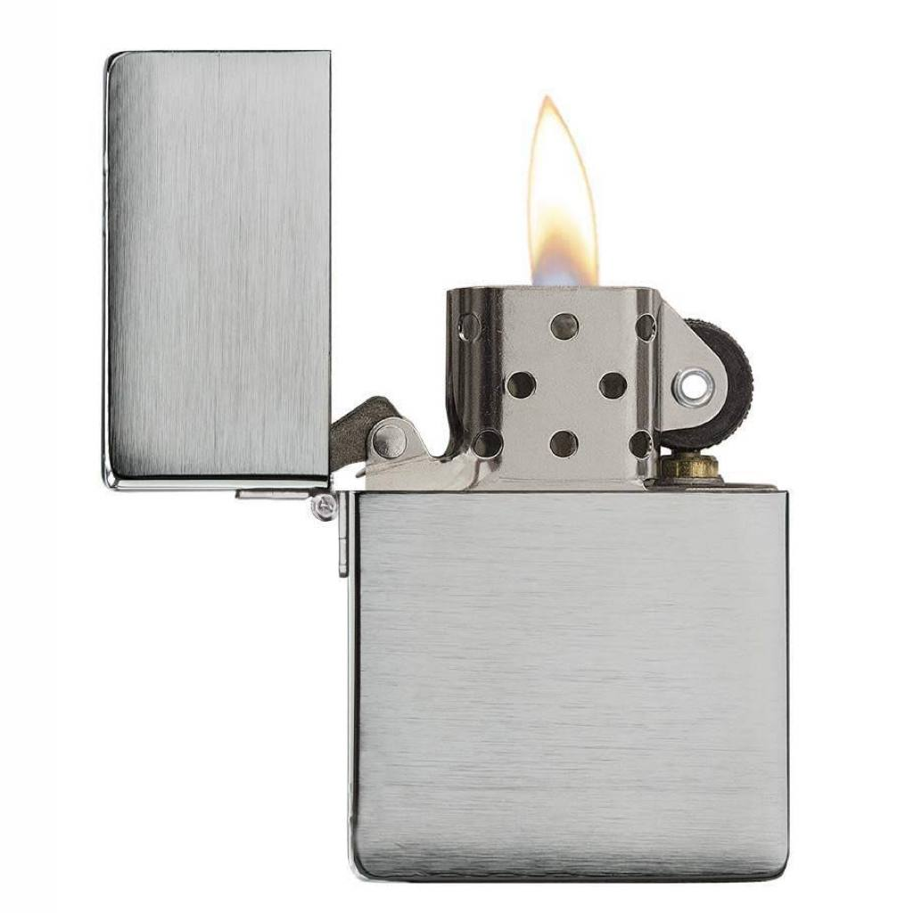 Zippo Replica 1935 Brushed Chrome Lighter in India, Zippo Lighters in India, Wind Proof Pocket Size Lighters Online, Zippo 1935.25 Replica Original Lighter