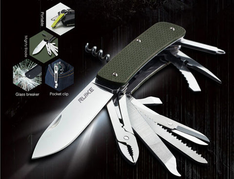 Ruike Knives & Multi Tools in India, Now available to buy online on www.ledflashlights.in