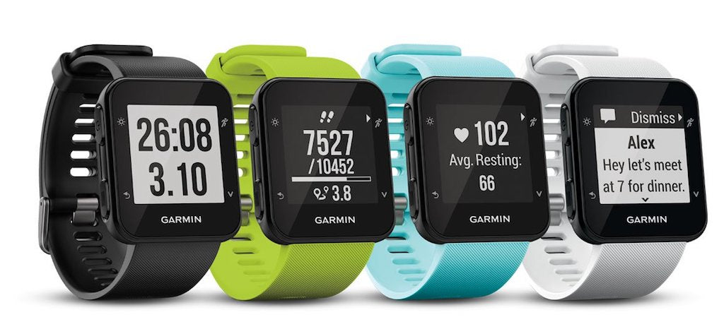 Buy Garmin Smart Watch Online in India, Garmin Forerunner 35  Smart Watch 010-01689-42, Easy-to-use GPS Running Watch with Wrist-based Heart Rate, Outdoor Fitness Smartwatch
