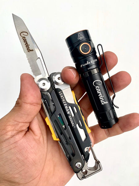 KNives and tools in india Leatherman and Fenix