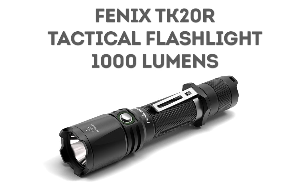 Fenix TK20R 1000 Lumens LED Flashlight, USB Rechargeable Powerful LED flashlight in India