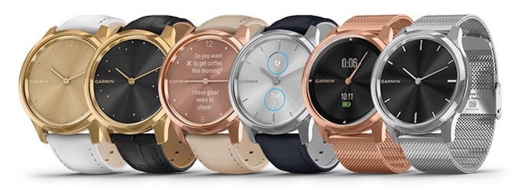 Garmin Vivomove Luxe smart watch online in India, Garmin watches in India, Premium Smartwatch, Garmin Vivomove 3 series